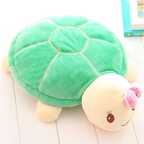 Room Sofa Pillow 55cm imitatie dier knuffel pluche schildpad pluche katoen super zacht kussen mooie gift for meisjes (Color : B, Size : 34cm)