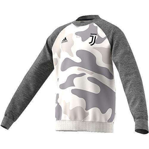 adidas Unisex Kinder JUVE Kids CRSWT Sweatshirt, campri/Brgros, 140
