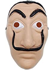 Salvador Dali - La Casa De Papel Money Heist Halloween Cosplay Face mask makeup party props mask