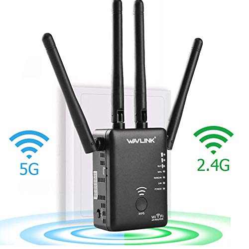 WAVLINK AC1200 wifi repeater wifi extender booster/Wireless Router Signal...