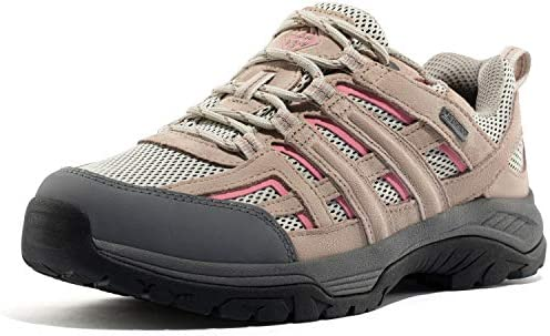 Wantdo Women s Waterproof Hiking Shoes Suede Leather Non Slip Mountain Trainer Boots 8 M US product image