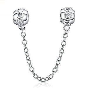 YASHUO Jewellery plata de ley 925 cuentas.