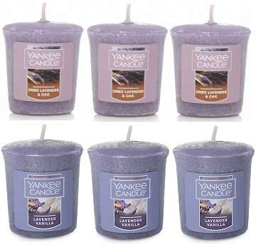 Yanke Candle Lavender Mail order cheap 4 years warranty Fragrances Votive Candles Oz. Pack 1.75 o