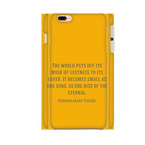 Generic Stampa Poetry Unico Compatibile con iPhone 6 6S 4.7Inch Custodie Rigide per Pc Ragazzi