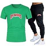 GIRLXV Backwoods Traje De Impresión De Camiseta Camiseta De Hombre Pantalones Casuales Camiseta De Golf Absorbente Traje Superior Deportivo XL