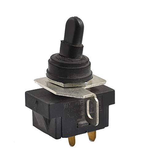 New Lon0167 AC 250V Destacados 5A 2 Terminales eficacia confiable ENCENDIDO APAGADO Interruptor de palanca de la herramienta eléctrica para la amoladora angular(id:1fd eb eb bf1)