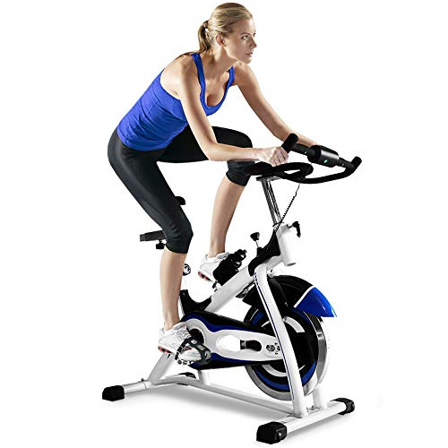 Learn More About MLQ Indoor Cycling Bike, Home Ultra-Quiet Exercise Bike, Aluminum Alloy Non-Slip Pe...