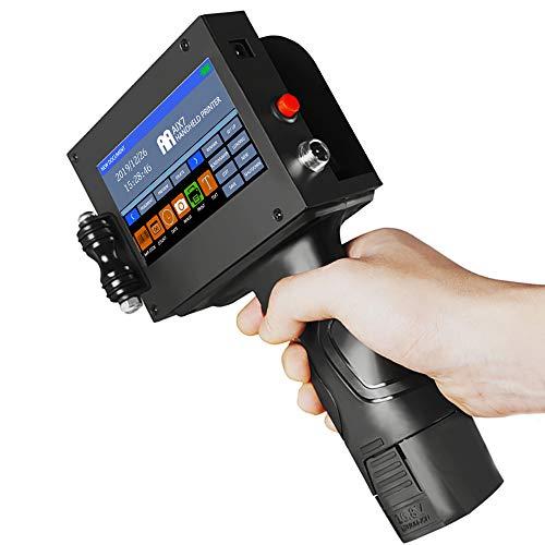 Stampante Portatile A Getto D'inchiostro Portatile, Codificatore Per Stampante Wireless Ad Alta Definizione Intelligente Per Marchio, Logo, Barra, Codice, Grafico, Data