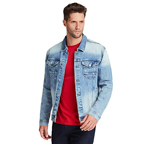 Guess Giacca Jeans Uomo M01N14 D3Y92 (M)