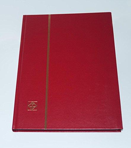 Einsteckbuch BASIC 32, rot: 32 schwarze Seiten, unwattierter Einband, rot