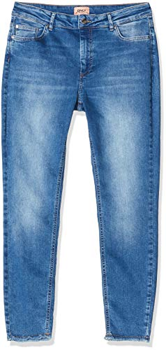 ONLY & SONS Dames Blush Life Jeans, Medium Blue Denim, L/34