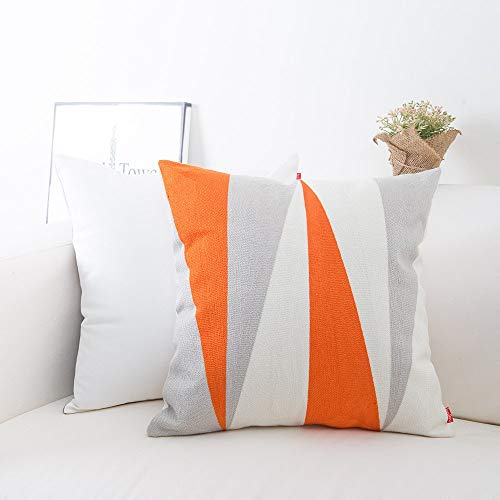 Baibu Cotton Embroidery Decor Throw Pillow Cover
