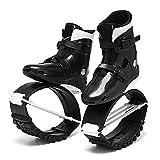 HXXXIN Scarpe da Rimbalzo di Alta qualità Unisex Bambini Adulti Stivali da Corsa Antigravità Scarpe da Rimbalzo per Il Fitness di Potenza Scarpe da Salto,Black m