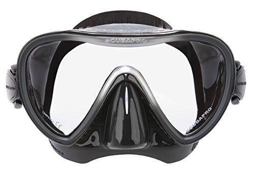 Synergy 2 Einglas Tauchmaske von Scubapro in Schwarz/Silber