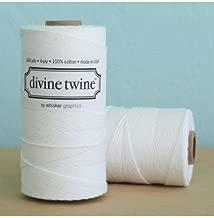 Solid Bright White Divine Twine