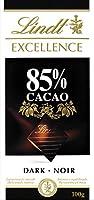 Lindt Excellence Dark Chocolate - 85% Cocoa (100g) リンツの優秀ダークチョコレート - 85%のココア( 100グラム)