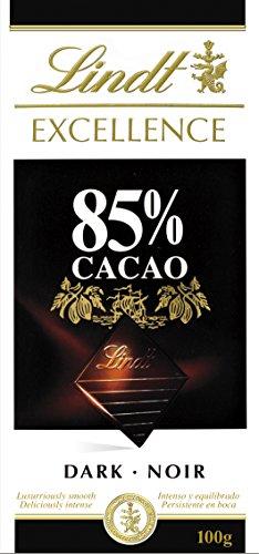 Lindt Excellence – Tableta de chocolate negro 85% cacao,
