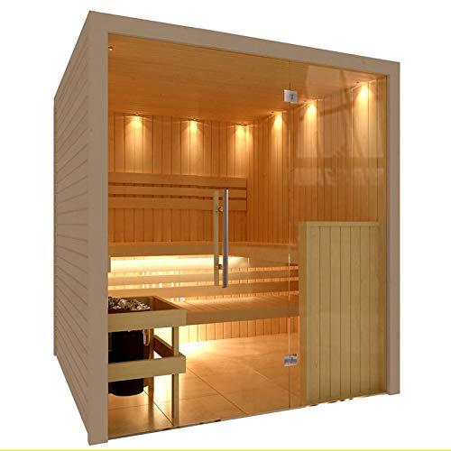 C-QUEL Hochwertige Royal Sauna mit Glasfront 1946 x 1955 x 2040...