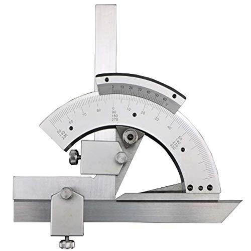 Nonius-Winkelmesser,320° Universal-Winkelmesssucher Mit Aufbewahrungsbox,Linealwerkzeug Aus Kohlenstoffstahl Für Die Messung Von Innen- Und Außenwinkeln Verschiedener Formen
