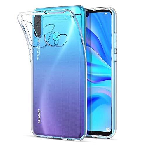 - Funda Carcasa Gel Transparente para Huawei P30 Lite - Huawei Nova 4E, Ultra Fina 0,33mm, Silicona TPU de Alta Resistencia y Flexibilidad