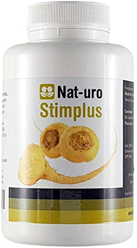 Nat-uro Stimplus | Producto natural para la fertilidad masculina y reproducción a base de Maca Andina, Arginina y Zinc - 60 cápsulas