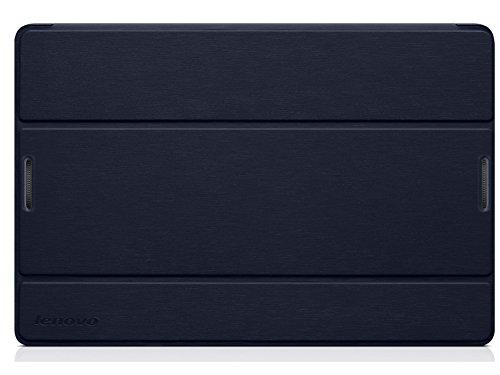 Lenovo 888016535 Ultra Slim Schützhülle für Lenovo A10-70 Tablet (10,1 Zoll, Standfunktion und automatisiertem Wake-up, inkl. Displayschutzfolie) dunkel blau