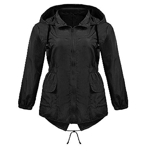 Chaqueta casual con capucha para mujer de primavera y otoño para mujer