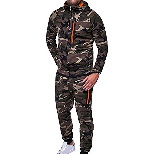 Better F Tracksuit Herren, Herren Jumpsuit Jogger Jogging Anzug Trainingsanzug Einteiler Overall Herren Sportswear Fleece Kapuzenjacke Trainingshose Sportanzug