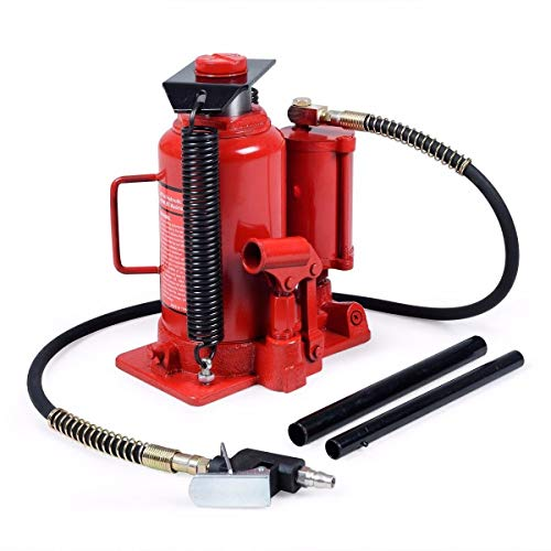 Goplus 20 Ton Hydraulic Low Profile Heavy Duty Bottle Jack Lifts Hoist