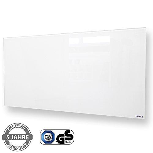 Infrarotheizung VASNER Citara G 900 Watt Glas mit VASNER Funk-Thermostat Set VFT35 – als kaufen  Bild 1*