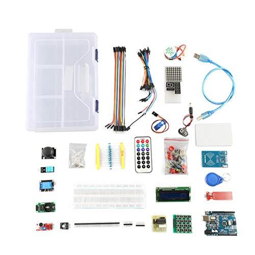 OMMO LEBEINDR UNO-Projekt Starter Kit Anfänger Super-Learning Kit Kompatibel mit Arduino IDE UNO-R3-Controller für die Industrie