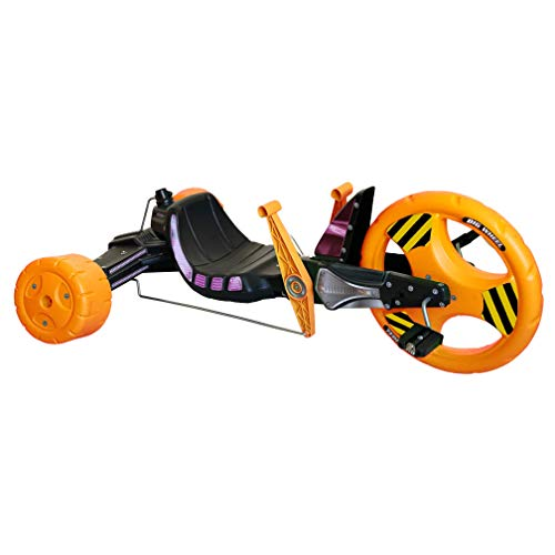 """The Original Big Wheel Sidewinder 16"""" X-TREME Racer Tricycle for Boys & Girls 5-10 Years of Age - Made in USA(Orange Peeler)"""