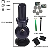 Metier Great Saving Combo Get 12 Inch Acrylic Ice Bong Along with 2