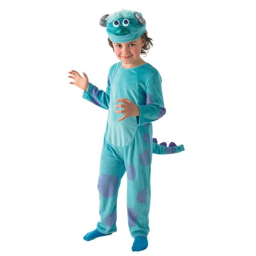 Disney Monster University Kinder Kostüm Sully Karneval Gr.3-4 Jahre