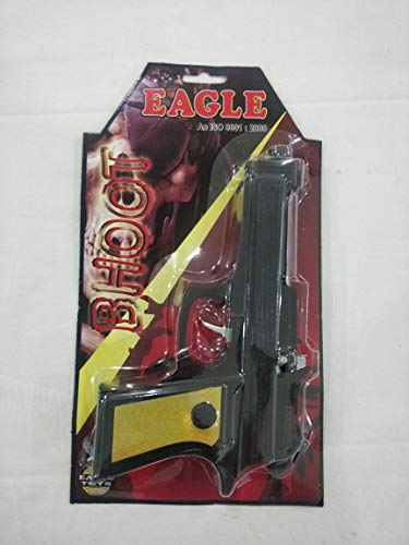 eagle toys bhoot diwali roll cap gun for kids-Black