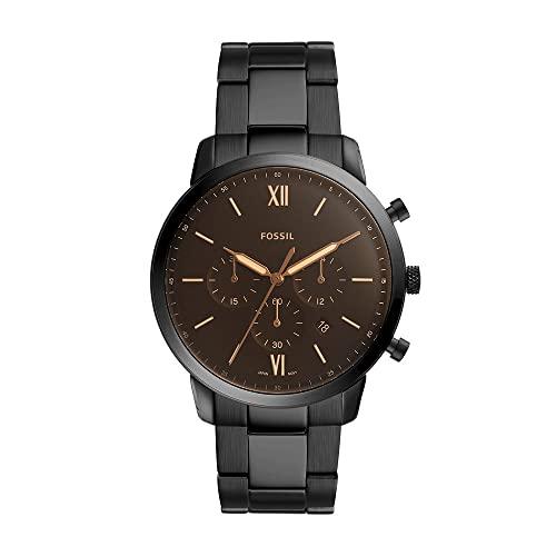 Orologio Uomo FOSSIL Neutra Chrono, misura cassa 44mm, movimento cronografo, cinturino in acciaio...