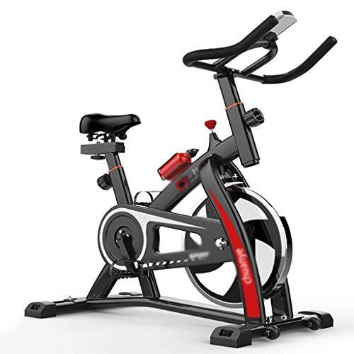 SISHUINIANHUA Vélo d'exercice de ménage, vélo de vélo de vélo de Course à Pied vélo intérieur Mouvement Perdre équipement de Remise en Forme 101 * 49 * 116CM Body Sculpting,Black