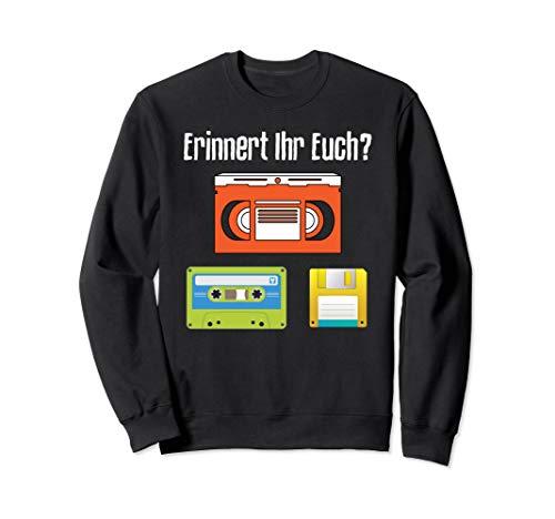 Videokassette Kassette Diskette Generation Z kennt das nicht Sweatshirt