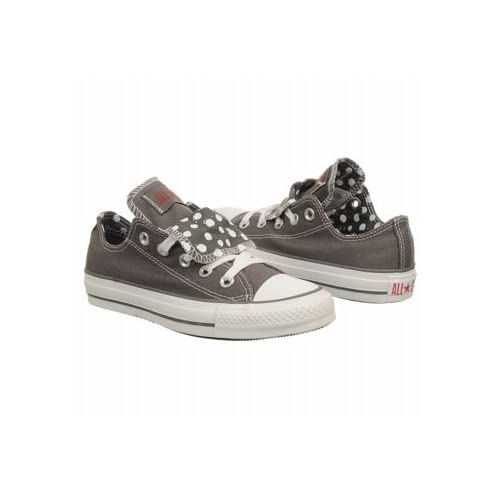 c9734a664f51 Converse Chuck Taylor WOMENS All Star Grey Double Tongue Ox 534760f (Womens  6  mens