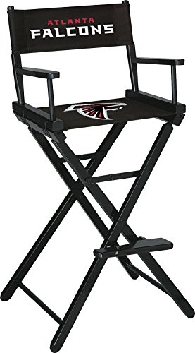 Imperial Officially Licensed NFL Furniture: Directors Chair (Tall, Bar Height), Atlanta Falcons