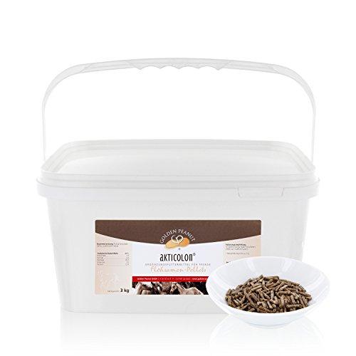 Akticolon flohfrön pellets 3 kg flytande skål kompletteringsfoder häst