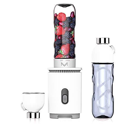 BABI Draagbare Blender Oplaadbare Persoonlijke Blender Fruit Blender voor Smoothies, IJs, Smoothies, Bevroren Fruit en Groente Drankjes,2