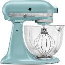 KitchenAid Artisan Designer 5 Qt. Azure Blue Stand Mixer-KSM155GBAZ - The Home Depot