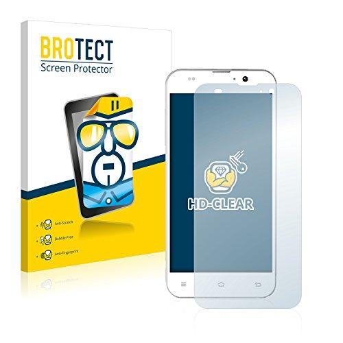 BROTECT Schutzfolie kompatibel mit Komu K5 Octa (2 Stück) klare Bildschirmschutz-Folie