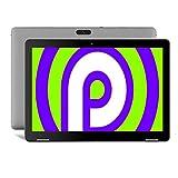 Tablet de 10 pulgadas con WiFi Android 9.0 – Winnovo T10 Quad Core CPU de 1,3 GHz, 3 GB RAM + 32 GB Emmc, Dual Camera WiFi, 6000 mAh, Bluetooth 4.0, GPS, OTG, HDMI, 1280 x 800 IPS Display 10 (gris)