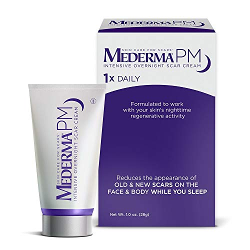 Mederma PM Intensive Overnight Scar Cream - Works with Skin