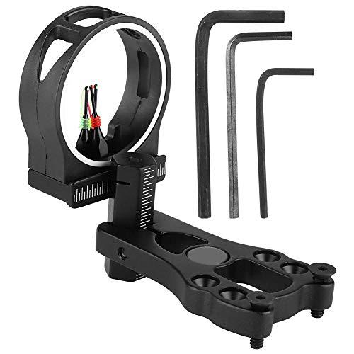 Zer one Vista de Arco Compuesto, TP1530 Basic Hunter Vista de Arco Óptica de Fibra de 3 Pines para Caza/Tiro