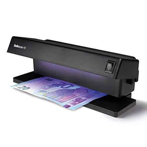 Safescan 45 - Detector UV de Billetes Falsos, verificación de Tarjetas de crédito y Documentos de Identidad