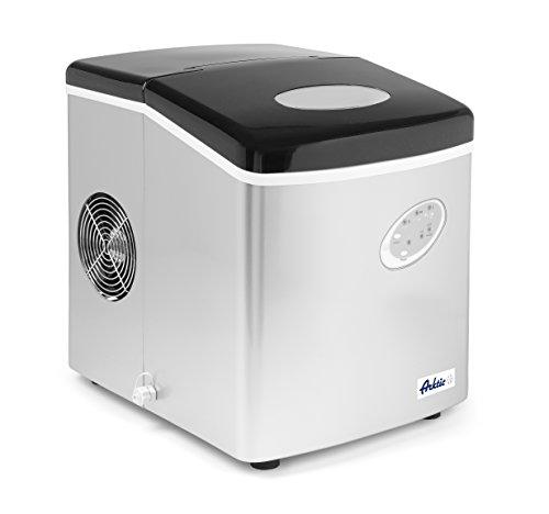 HENDI Eiswürfelmaschine, Eismaschine, Eiscrusher, Eiswürfelmaschine, Kapazität: 100 Eiswürfel, ABS Kapazität 12 kg, Vorratsbehälter 3,2 kg, 230V, 120W, 297x367x(H)378mm, ABS Kunststoff