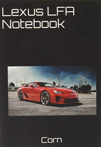 Lexus LFA Notebook